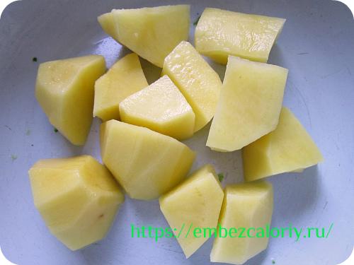 И картофель