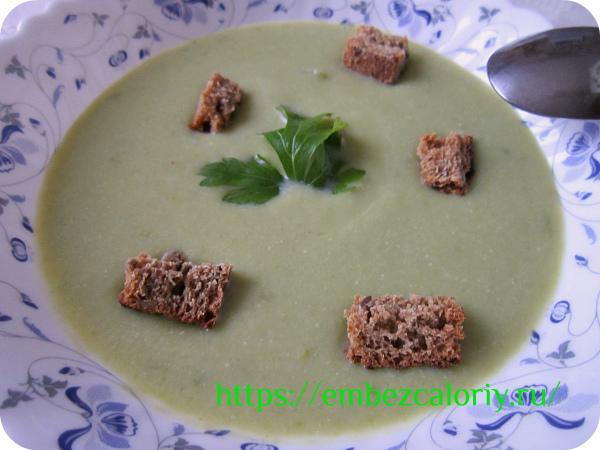 Суп пюре из капусты готов!