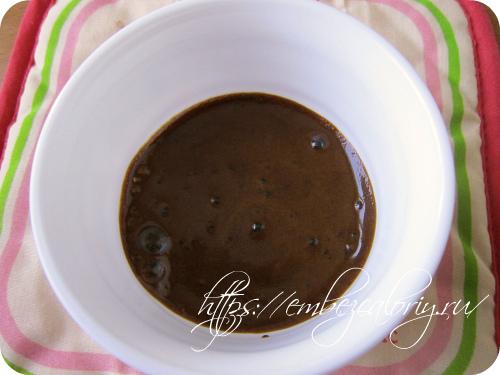Кофе растворяем в горячем молоке
