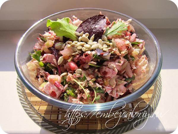 Наш пикантный и полезнейший салат весенний готов!