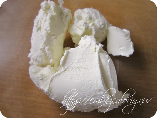 В творожный сыр