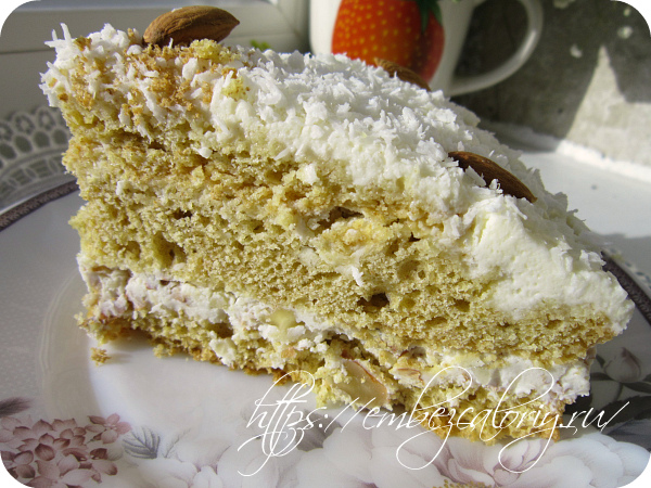 Наш торт Кокосаночка готов!