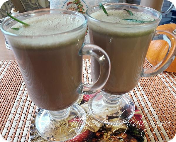 Вкусное и насыщенное Какао тыквенное готово!
