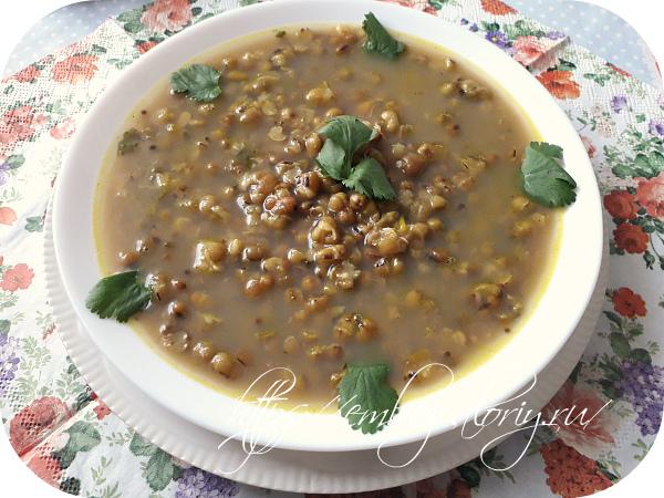 Аппетитны и вкусный суп из маша готов!