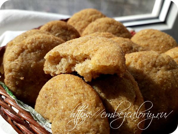 Вкусное и ароматное печенье из творога готово!
