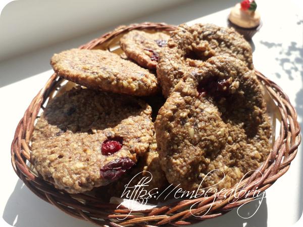 Печенье без сахара готово!