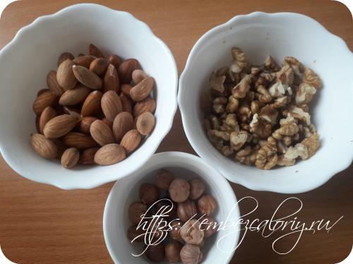 Орехи замачиваем на ночь