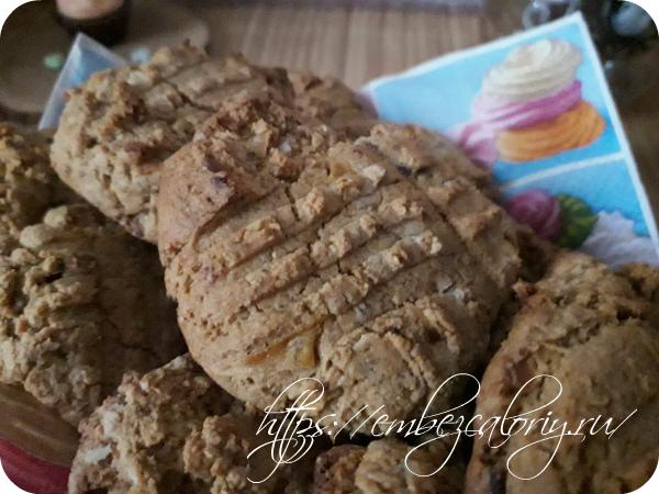 Гречнево-овсяное печенье