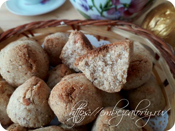 Вкусное и ароматное Постное печенье «Пирамидки» готово!