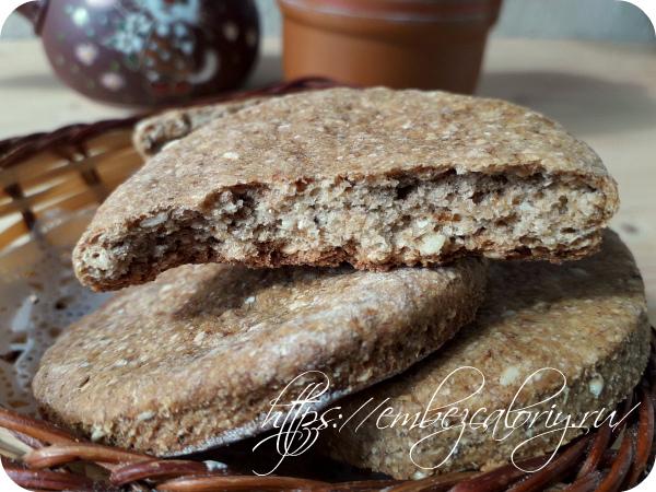 Кунжутное печенье готово!
