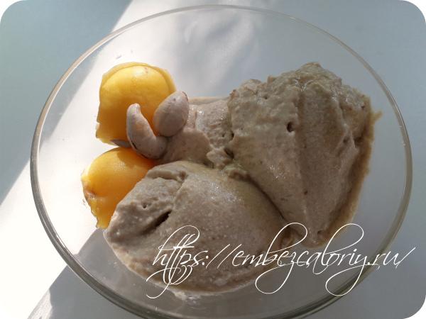 Бананово – абрикосовое мороженое