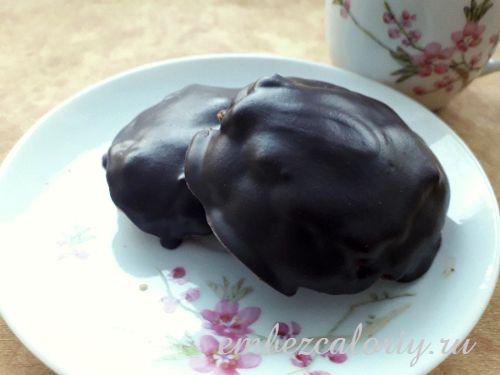 Овсяно - имбирное печенье в натуральном шоколаде